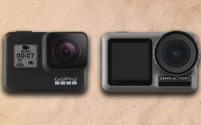 Comparativa GoPro Hero7 Black y DJI Osmo Action